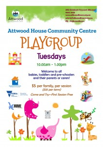Playgroup 2020 poster